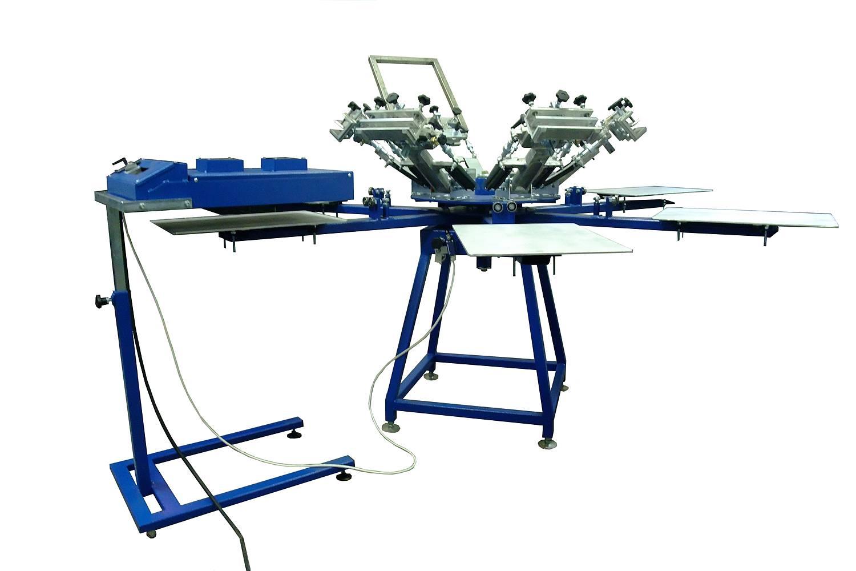 Wszystkie nowe Stół obrotowy do druku ręcznego – AMIT – urządzenia do sitodruku BO33